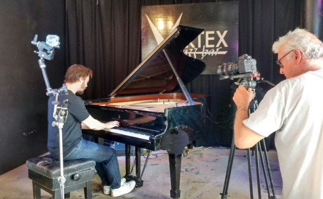 The Vortex Piano Campaign 2016 with Bruno Heinen