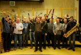 Czech Philharmonic woodwind at Smecky Studios Prague