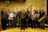 Czech Philharmonic woodwind at Smecky Studios Prague