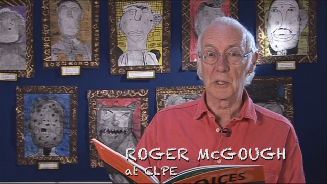 Roger McGough reading for Poetryline