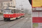Prague 22 Tram