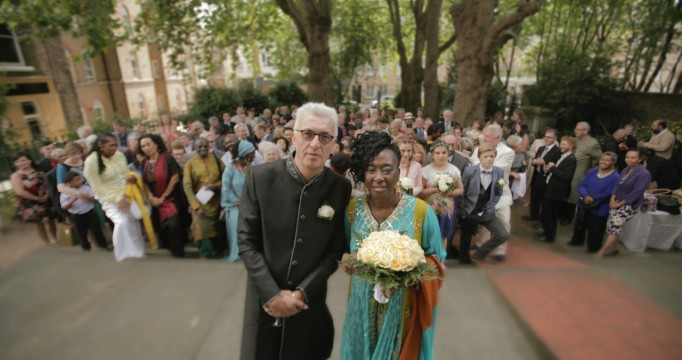 Colin & Yaba at St James Clerkenwell