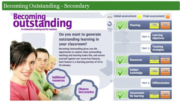 Becoming Outstanding Webpage