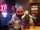 Guven meets Wallace and Gromit
