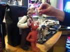 Wallace's interchangeable smile