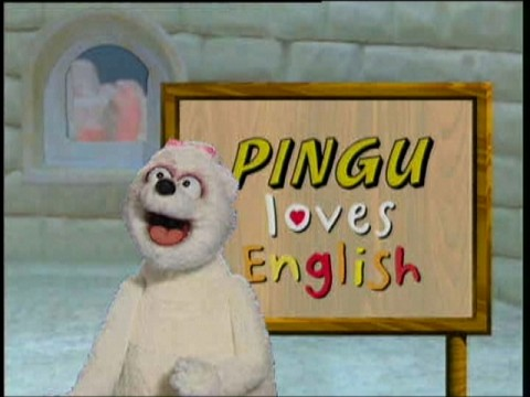 pingu loves english