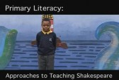 Approaches to teaching Shakespeare